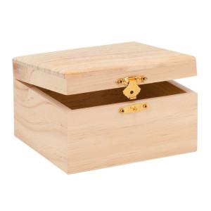 Holzbox rechteckig