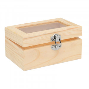 Wooden Box With Acrylic Glass