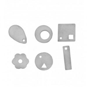 Decorative shapes 6 pieces