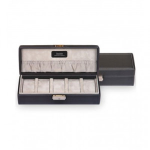 Écrin pour pour 5 montres - dimensions: 29 x 10,5 x 8,5 cm.