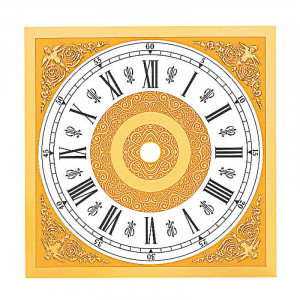 Clock Dial 112 x 112 mm