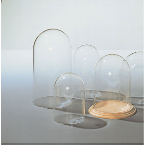 Genuine glass Domes  Ø 142 x 260 mm high