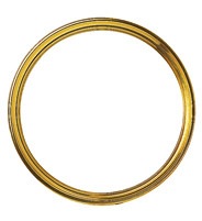 Loose circlet closing-off Brass Ø 182