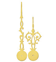 Hand pair Eurocode Antique yellow MHL:90mm