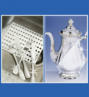 Silber Clean Platte