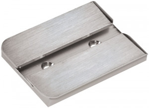 Rail plate for vice Bergeon