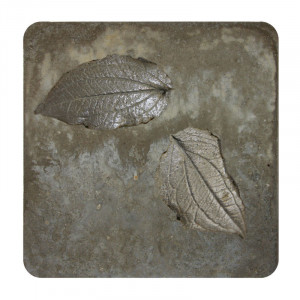 Wall Plaque With Structured Surface