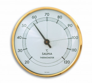 Sauna-Thermometer, Ø 102mm