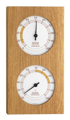 Sauna-Thermo-Hygrometer, 130x242mm