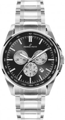 Pierre Petit Chronograph Le Mans black Swiss Made