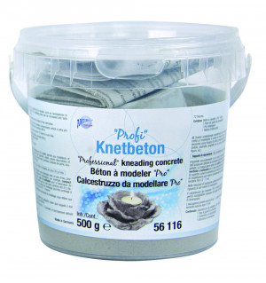 Professional kneadable concrete, grey, 500 g
