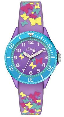 s.Oliver plastic purple colorful SO-3273-PQ