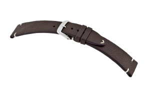 Leather strap El Paso 18 mm mocha