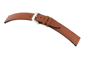 Leather strap Tulsa 16 mm cognac