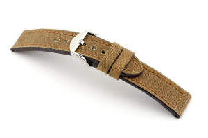 Leather strap Mansfield 20 mm honey