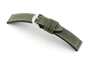 Lederband Mansfield 20 mm natogrün