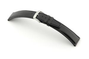 Lederband Idaho 22 mm schwarz