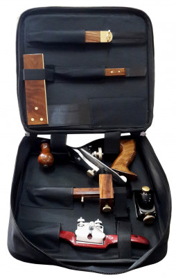 Professional tool set for carpenters, joiners, cabinetmakers, woodworkers
