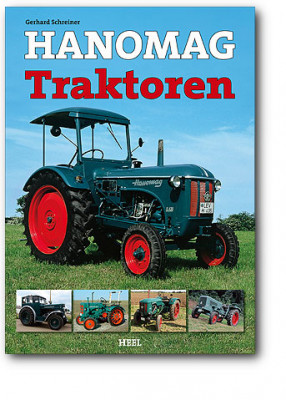 Book Hanomag tractor 192 pages (German version)