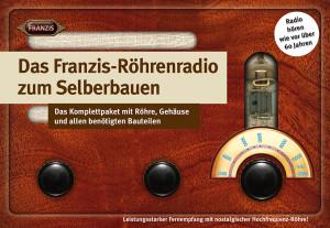 Kit de poste réception à tubes radio