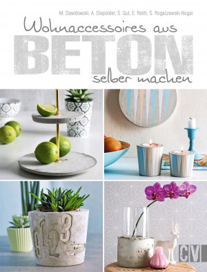 Book home accessories made of concrete (German edition)