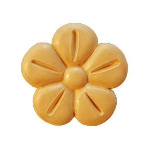 Wooden decorative flower  Ø 55 x 7mm
