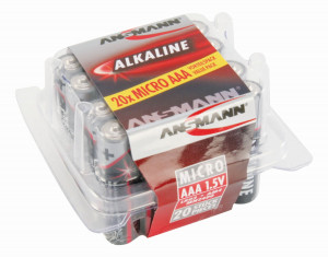 RED Alkaline Sortiment Micro / AAA / LR03 20 Stück