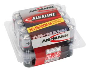 RED Alkaline Sortiment Mignon / AA / LR06 20 Stück