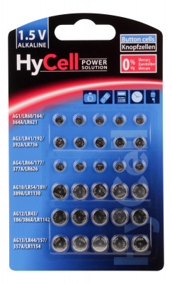 Alkaline Button Cell assortment