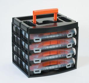 Système de combinaison modulaire ! Boîte d'assortiment professionnel 16 x 4
