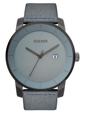 s.Oliver textile/ leather blue SO-3570-LQ