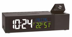 TFA Horloge de projection Show avec climat intérieur