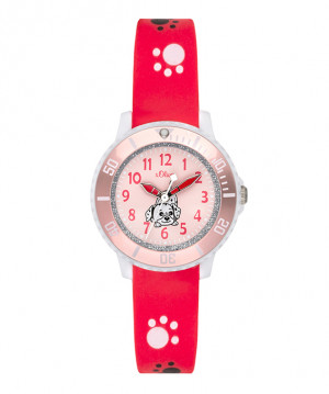 s.Oliver rubber strap pink SO-3631-PQ