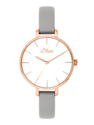 s.Oliver bracelet similicuir gris SO-3651-LQ