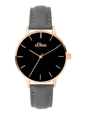 s.Oliver bracelet similicuir gris SO-3646-LQ