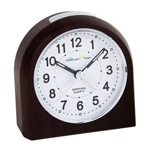 Atlanta 2506/20 quartz alarm clock sweeping second sustainable