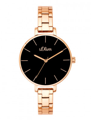 s.Oliver watch strap stainless steel rose SO-3649-MQ