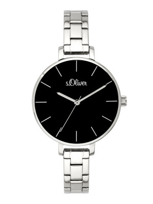 s.Oliver watch strap stainless steel silver SO-3648-MQ