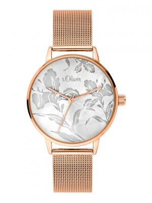 s.Oliver watch strap stainless steel rose SO-3641-MQ