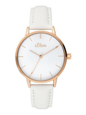 s.Oliver bracelet similicuir blanc SO-3644-LQ