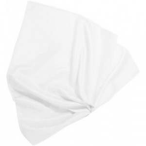 Bergeon Tissu en microfibre blanc, 250 x 250 mm