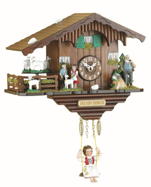 Pendule à coucou 'Heidi-Haus' maison d'Heidi