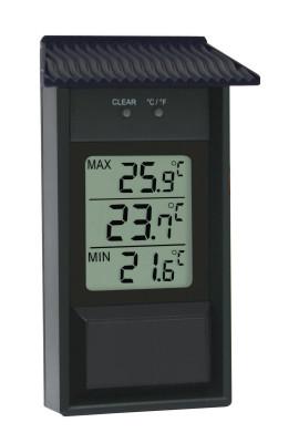 Max.-Min.-Thermometer für drinnen und draußen