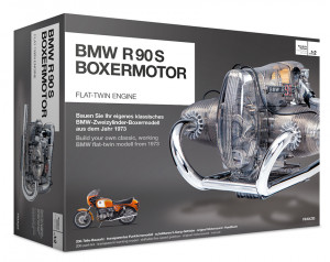200-part-kit BMW R90S, transparent working model