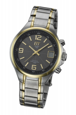 Eco Tech Time Solar Drive Radio Controlled Gents Watch Basic