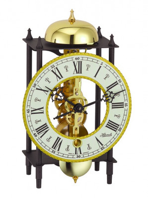 Horloge murale et table squelette HERMLE Fribourg III