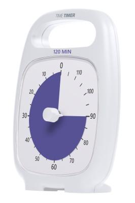 TIME TIMER Plus, weiß - 120 Minuten