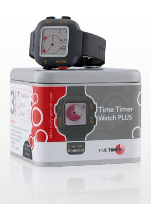 TIME TIMER Armbanduhr, schwarz