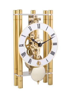 HERMLE Skelett-Tischuhr, gold