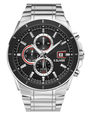s.Oliver SO-3757-MM stainless steel strap silver